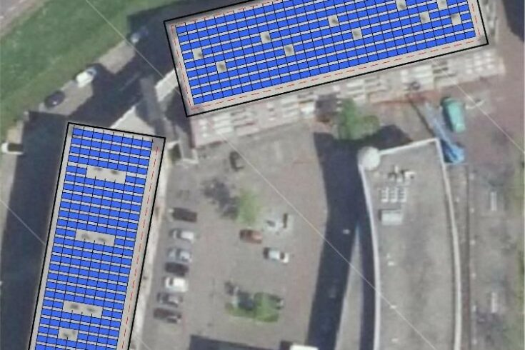 Postcoderoos-project in  Oud-Beijerland                medio maart in werking
