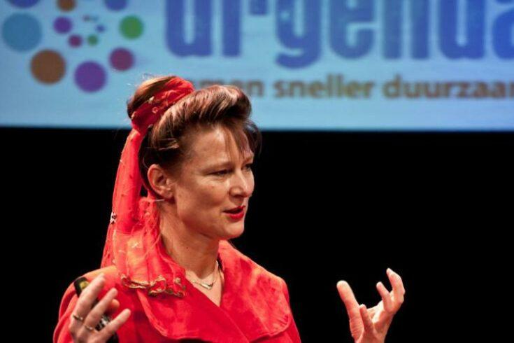 Marjan Minnesma (Urgenda) komt hier spreken over klimaat- en energiebeleid